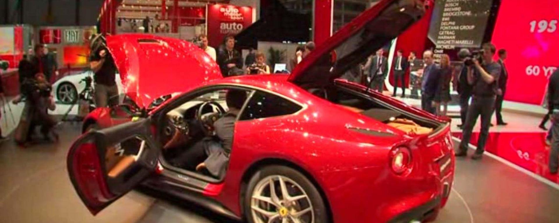 Salone di Ginevra 2012: Ferrari