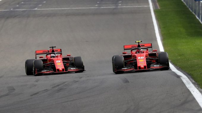 Ferrari 2019, Sebastian Vettel vs Charles Leclerc