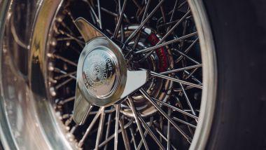 Ferrari 250 GT SWB Berlinetta Competizione Revival, cerchi a raggi con gallettone