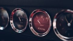 Ferrari 250 GT SWB Berlinetta Competizione Revival, gli indicatori sulla plancia