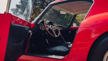 Ferrari 250 GT SWB Berlinetta Competizione Revival, gli interni