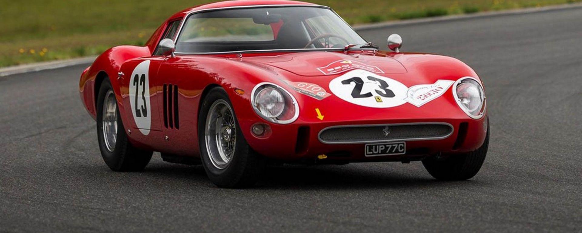 Ferrari 250 GTO 1963, asta da record