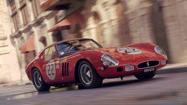 Ferrari 250 GTO: amatissima, anche nei videogiochi (Gran Turismo)