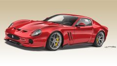 Ferrari 250 GTO by Ares Design: vista 3/4 anteriore