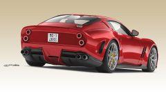Ferrari 250 GTO by Ares Design: vista 3/4 posteriore