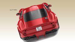 Ferrari 250 GTO by Ares Design: vista posteriore