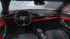 Ferrari 296 GTB, gli interni