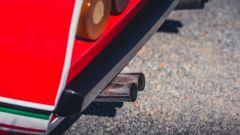 Ferrari 308 GTB LM Evocation, dettaglio degli scarichi