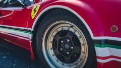 Ferrari 308 GTB LM Evocation, dettaglio del cerchio anteriore