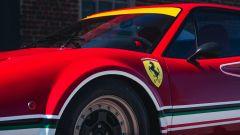 Ferrari 308 GTB LM Evocation, dettaglio del passaruota anteriore allargato