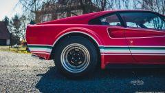 Ferrari 308 GTB LM Evocation, dettaglio della ruota posteriore