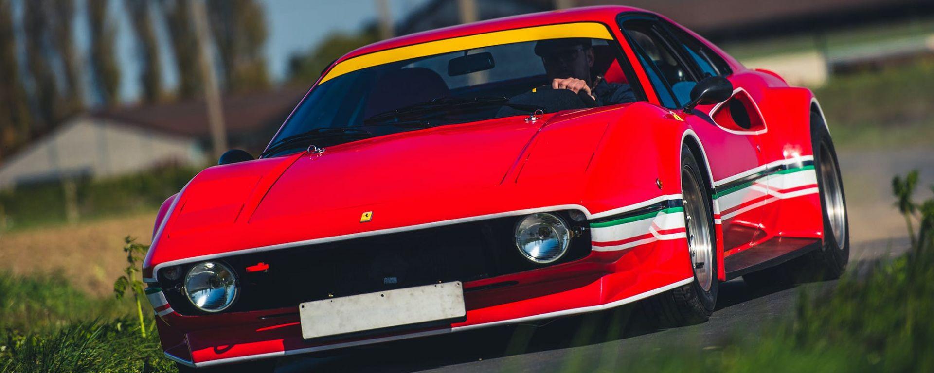 Ferrari 308 GTB LM Evocation, dettaglio delle nuove luci frontali
