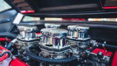 Ferrari 308 GTB LM Evocation, i cornetti di aspirazione