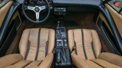 Ferrari 308 GTS, l'abitacolo
