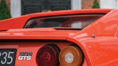 Ferrari 308 GTS, particolare dei fanali