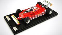 Ferrari 312T4 sul piedistallo