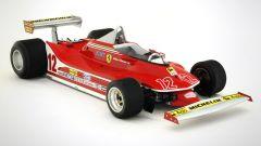 Ferrari 312T4: visuale di 3/4 anteriore