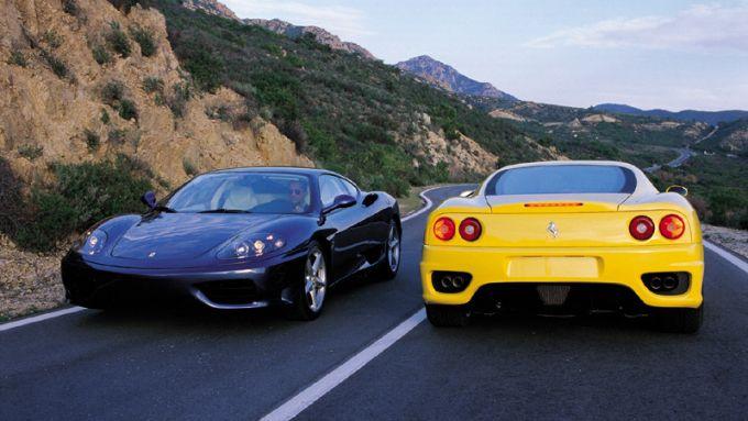 Ferrari 360 Modena: frontale e diffusore posteriore