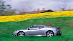 Ferrari 360 Modena, vista laterale
