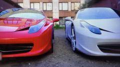 Ferrari 458 Italia: replica costruita con una Porsche Boxster