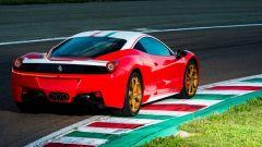 Ferrari 458 Italia: vista 3/4 posteriore