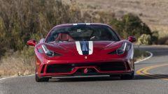 Ferrari 458 Speciale antiproiettile, il frontale