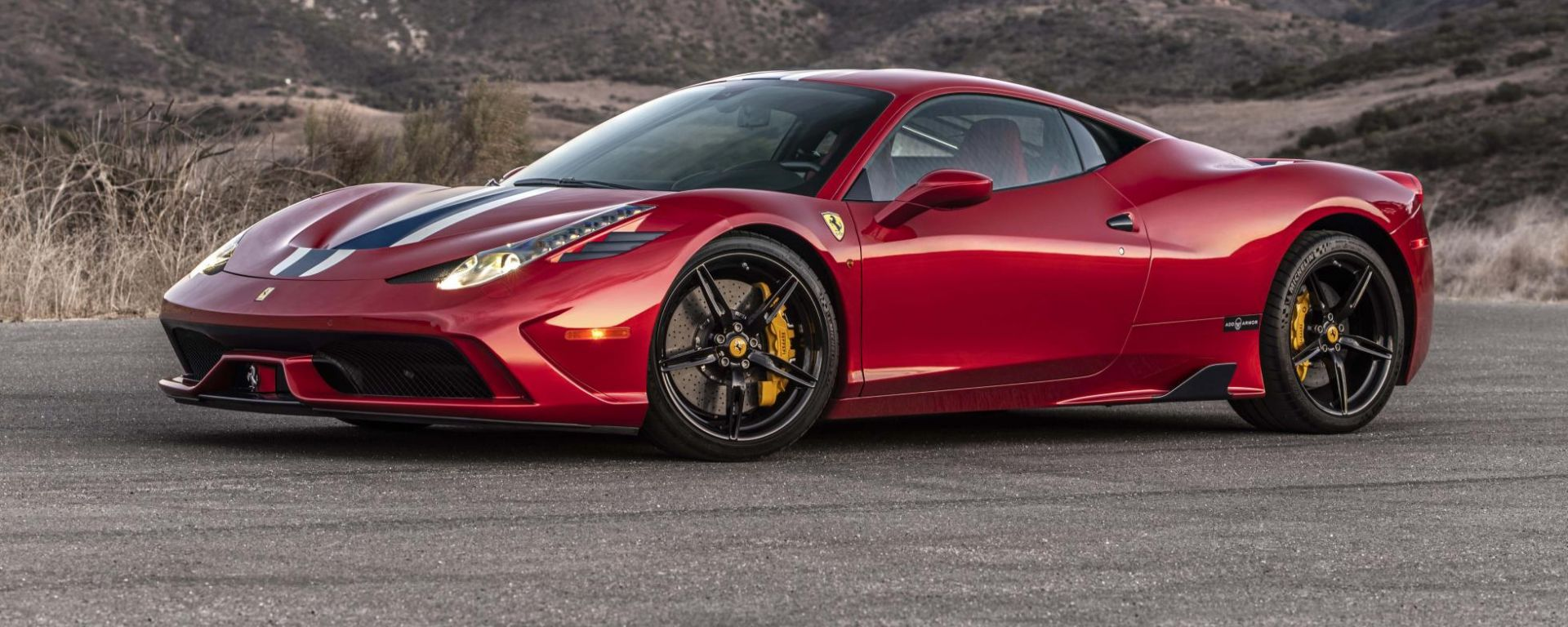 Ferrari 458 Speciale... antiproiettile!