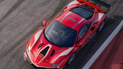 Ferrari 488 Challenge EVO vista dall'alto