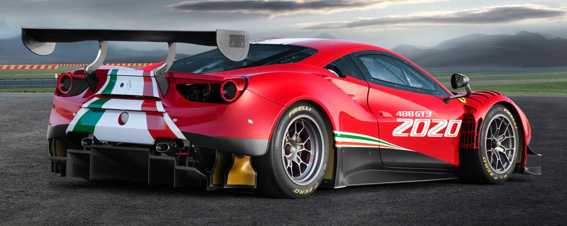 Ferrari 488 GT3 EVO: come migliorare la perfezione