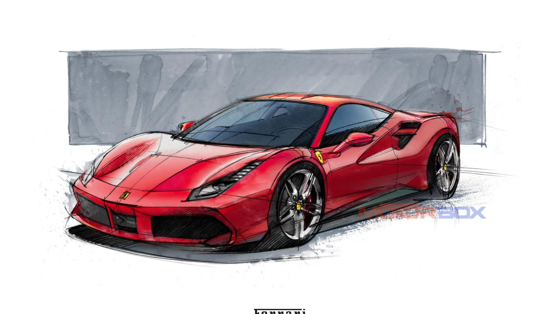 Ferrari La Ferrari >> Approfondimenti: Ferrari 488 GTB: focus sul design - MotorBox