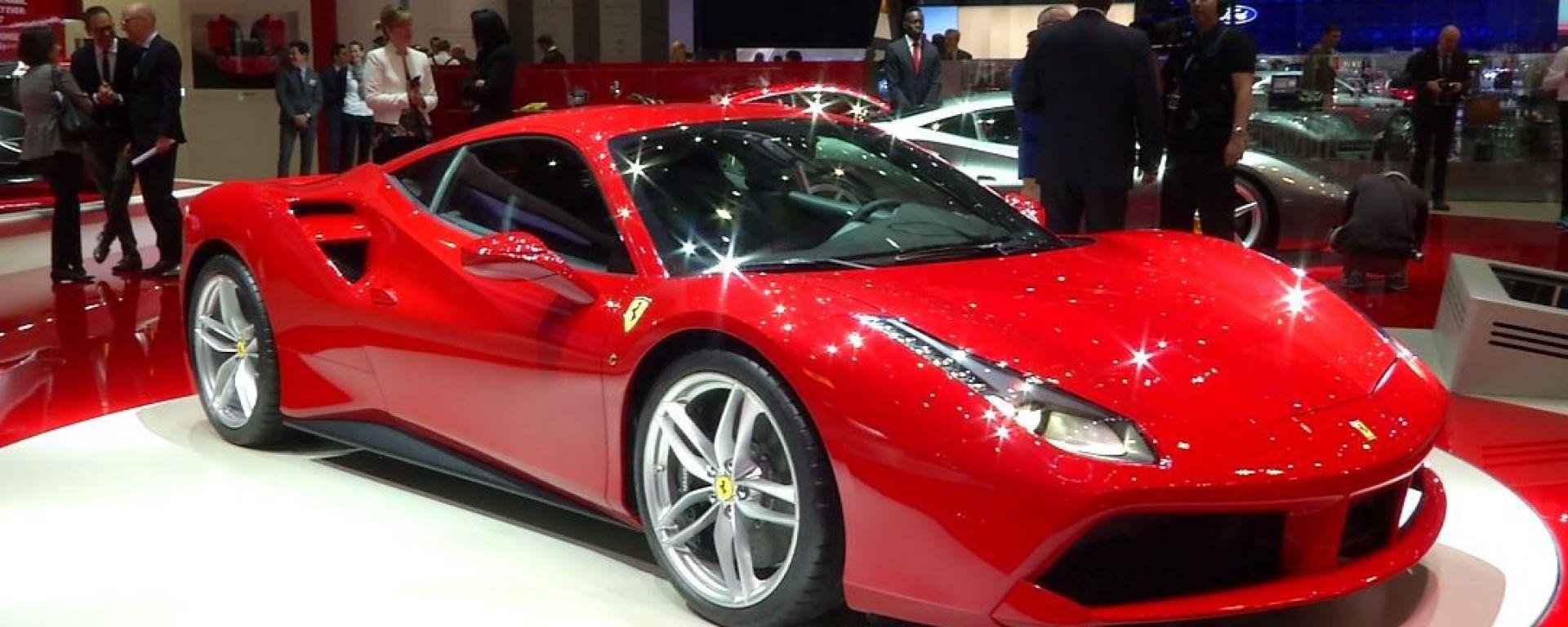 Ferrari 488 GTB: il video dallo stand