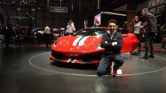 Ferrari 488 Pista: in video dal Salone di Ginevra 2018 - Immagine: 1