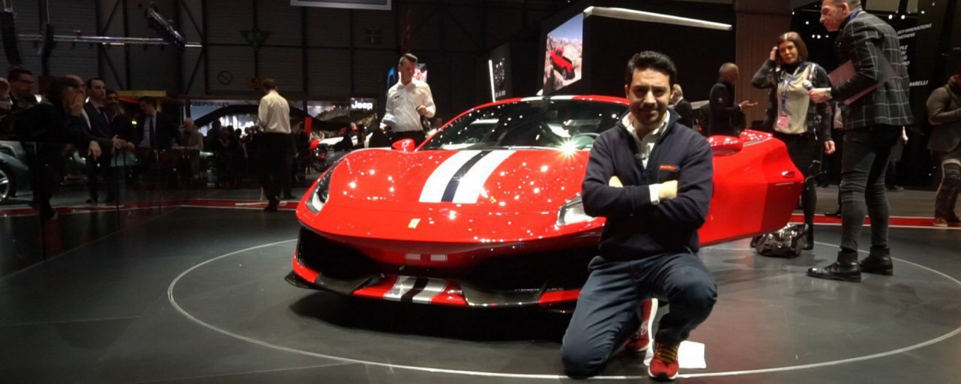 Ferrari 488 Pista: in video dal Salone di Ginevra 2018