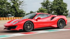 Ferrari 488 Pista fianco