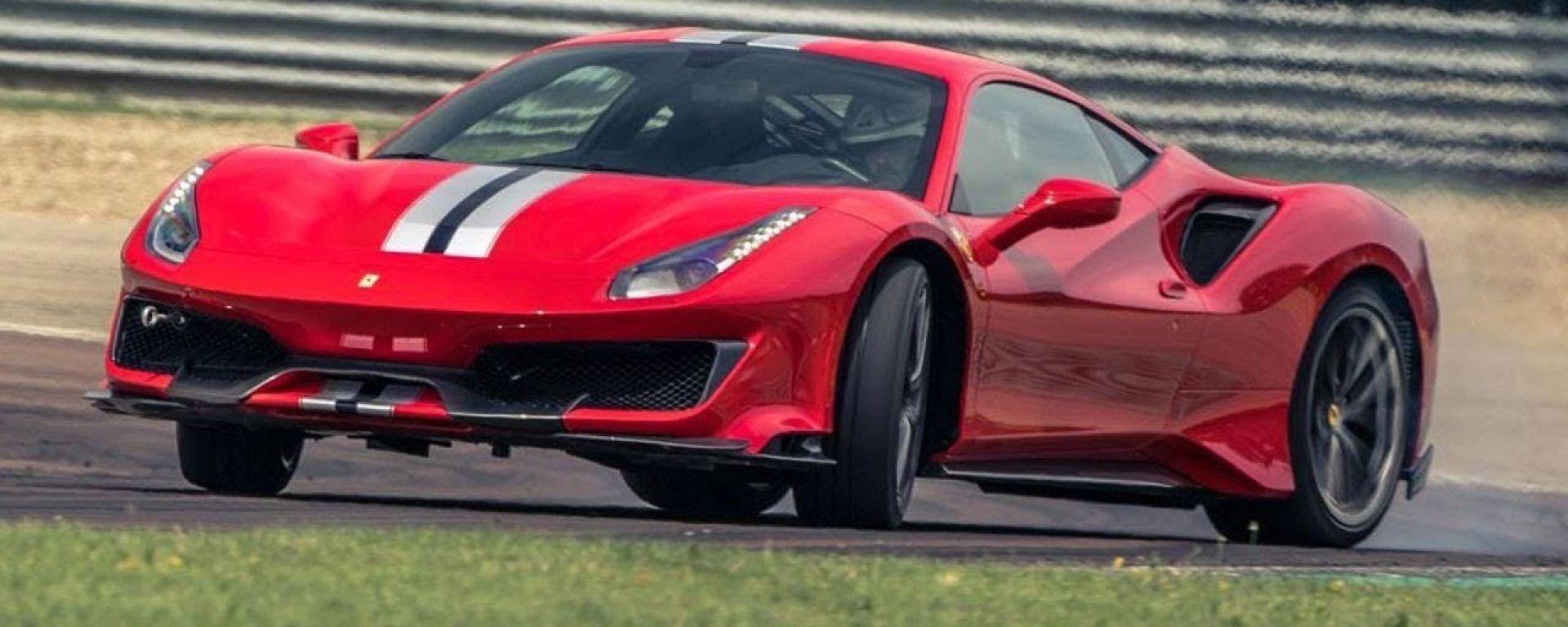 Ferrari 488 Pista: record pazzesco sul circuito di Top Gear