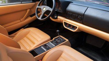 Ferrari 512 TR, gli interni