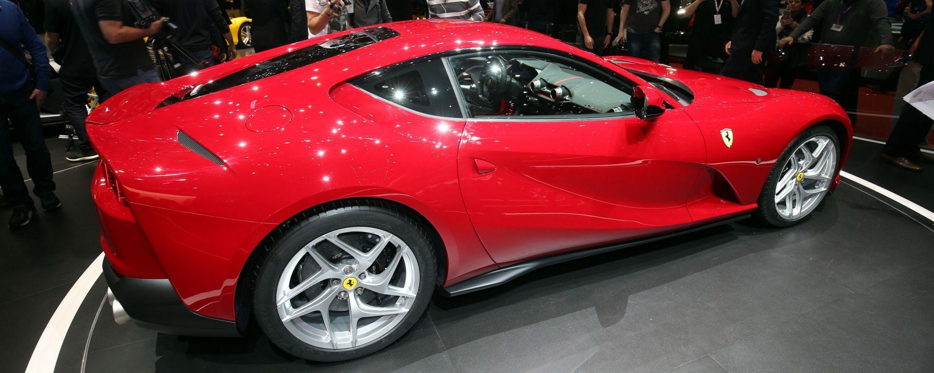 Ferrari 812 Superfast al Salone di Ginevra 2017