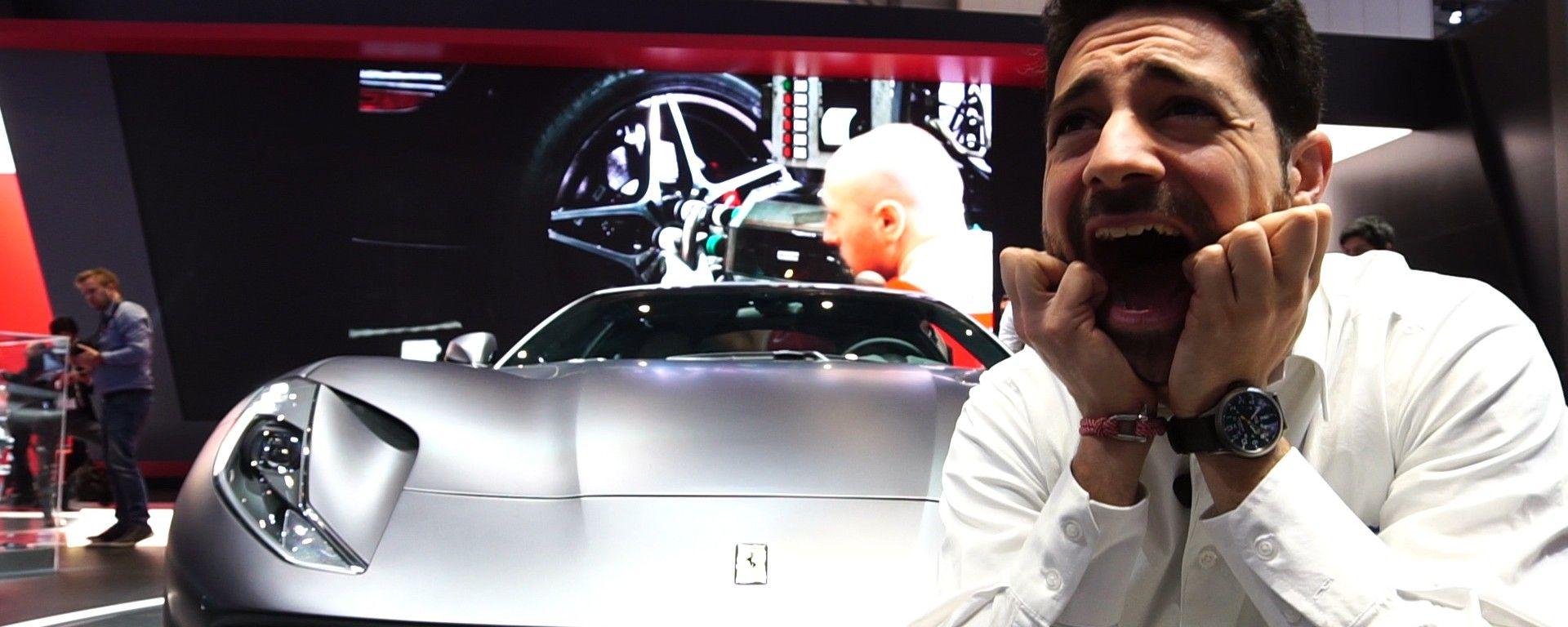 Ferrari 812 Superfast: in video dal Salone di Ginevra 2017