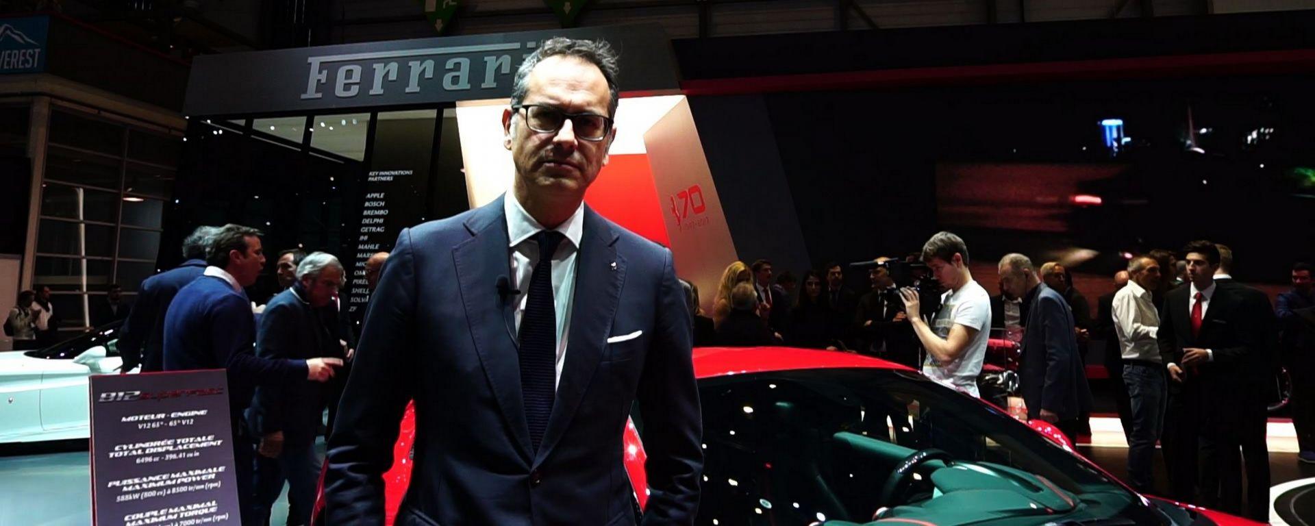 Ferrari 812 Superfast, Salone di Ginevra 2017, intervista a Flavio Manzoni