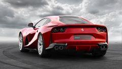 Ferrari 812 Superfast: vista 3/4 posteriore