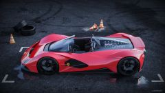 Ferrari Aliante Barchetta: dall'alto