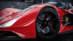 Ferrari Aliante Barchetta: dettaglio cerchio anteriore
