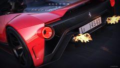 Ferrari Aliante Barchetta: dettaglio terminali di scarico