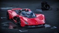 Ferrari Aliante Barchetta: il frontale