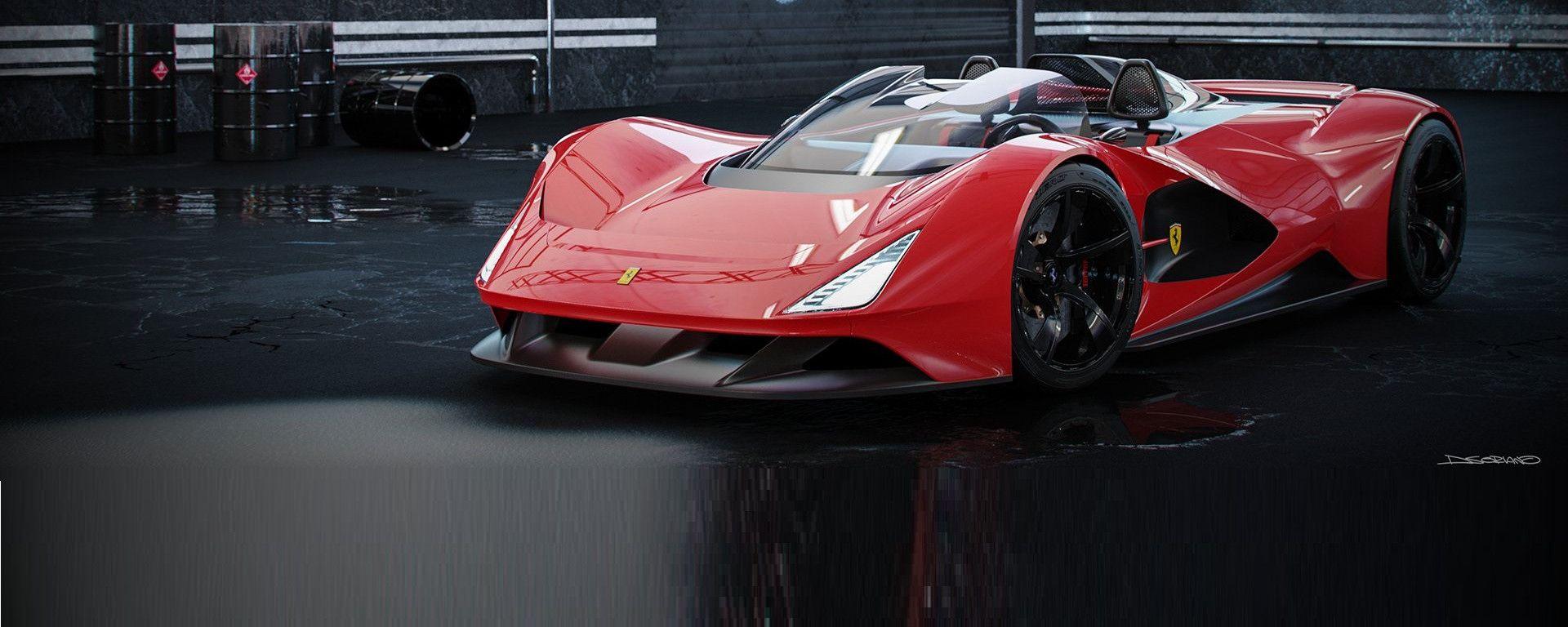 Ferrari Aliante Barchetta: L'anteriore