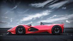 Ferrari Aliante Barchetta: vista laterale