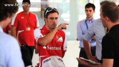 Ferrari: Alonso guida LaFerrari - Immagine: 5