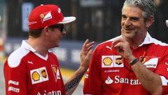 """Ferrari, Arrivabene: """"Ho comunicato io a Raikkonen il cambio con Leclerc"""""""