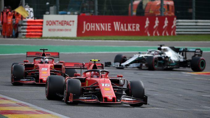 Gp Monza, Hamilton sfida la Ferrari: