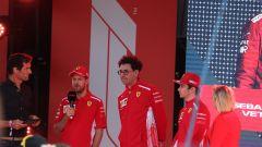 Ferrari, Binotto con Vettel e Leclerc alla presentazione del mondiale 2019 a Melbourne